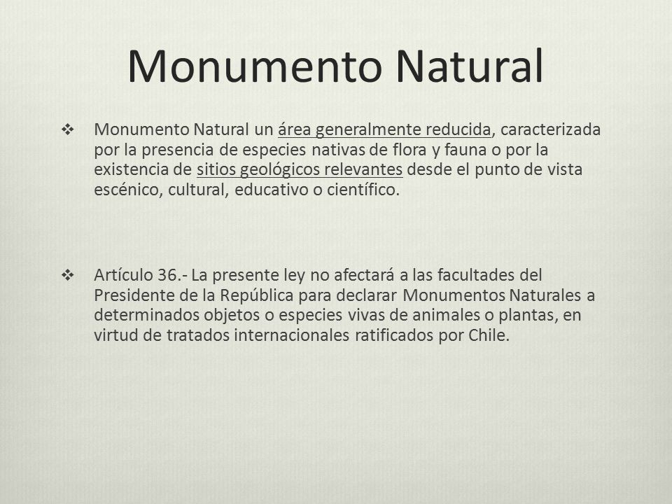 Monumento Natural