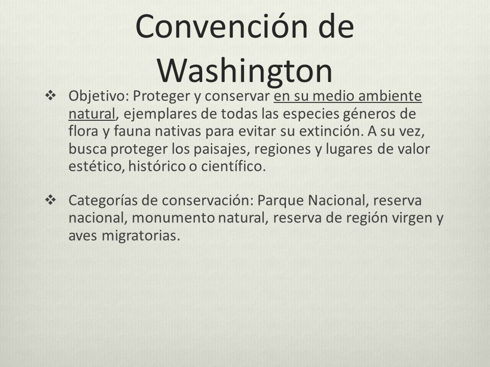 Convención de Washington