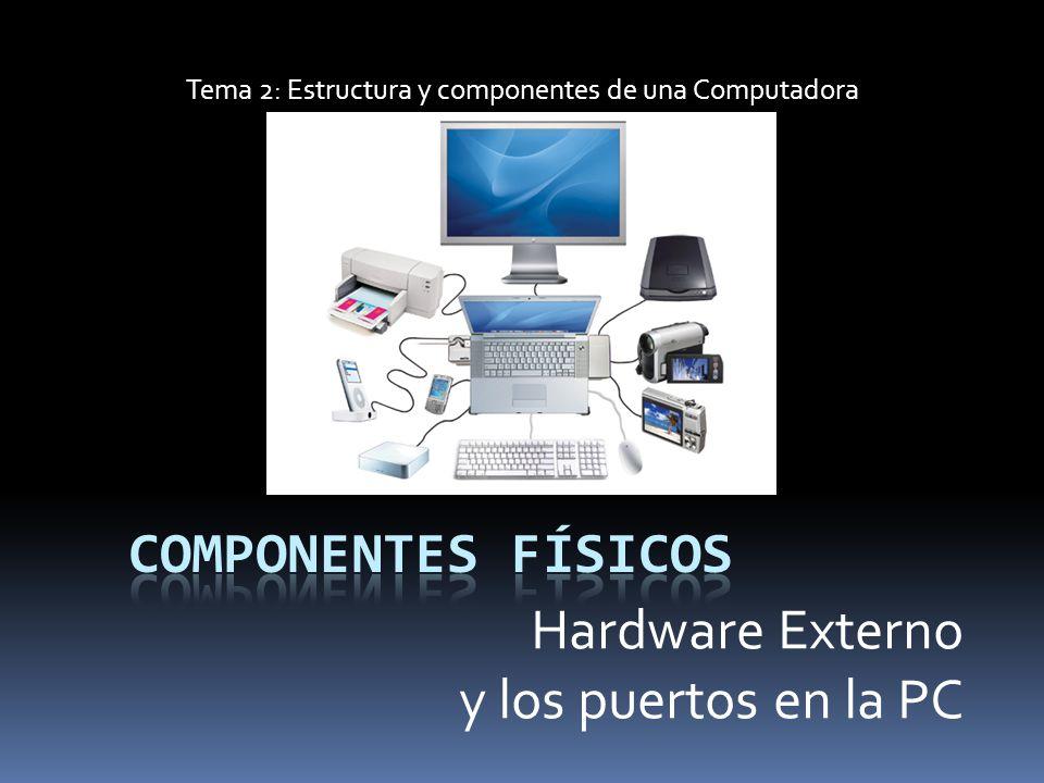 Tema 2 Estructura Y Componentes De Una Computadora Ppt
