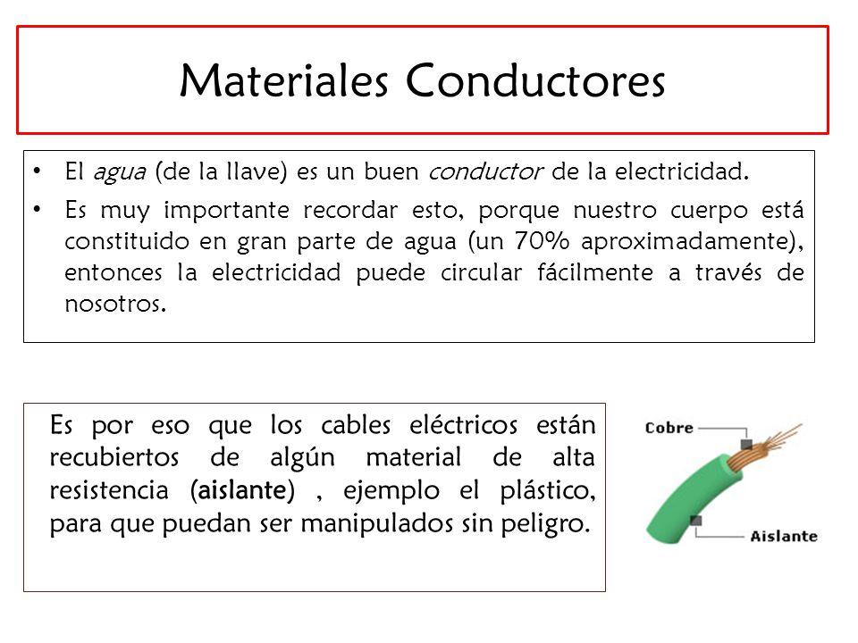 Electricidad en la vida cotidiana parte ii ppt video - El material aislante ...