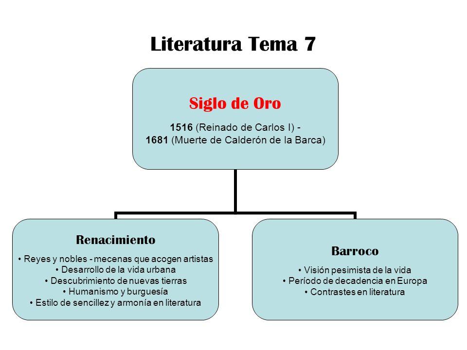Literatura Tema 7