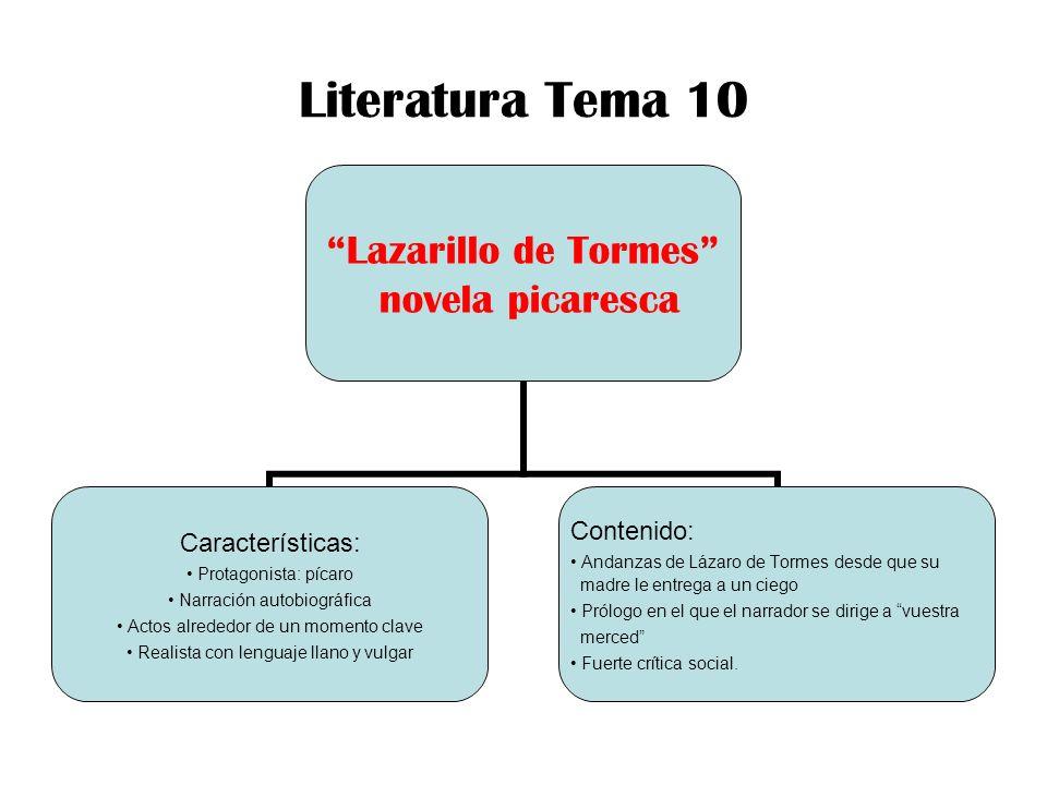Literatura Tema 10