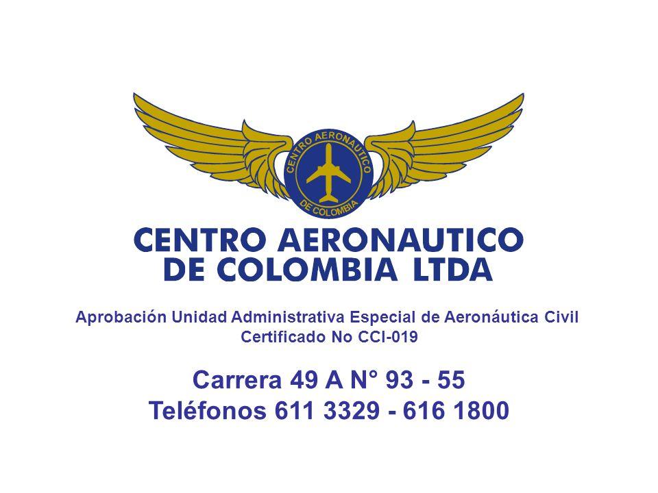 Aprobación Unidad Administrativa Especial de Aeronáutica Civil
