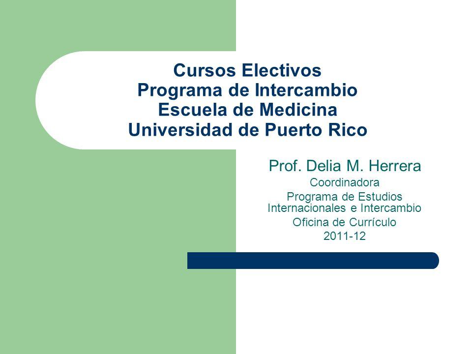 Programa de Estudios Internacionales e Intercambio