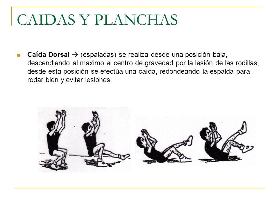 CAIDAS Y PLANCHAS