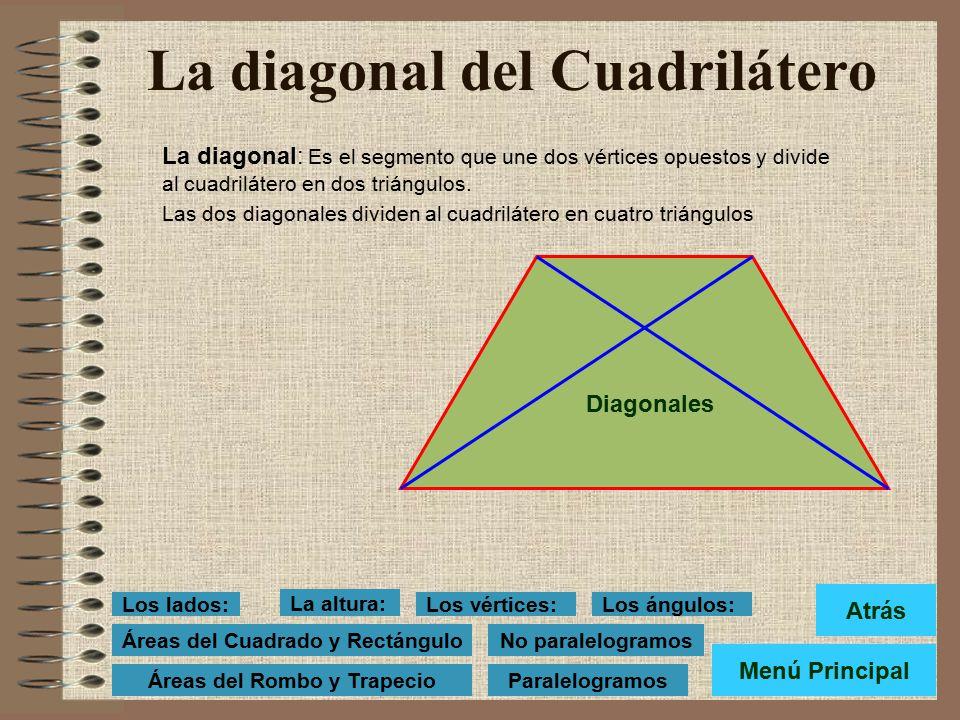 La diagonal del Cuadrilátero