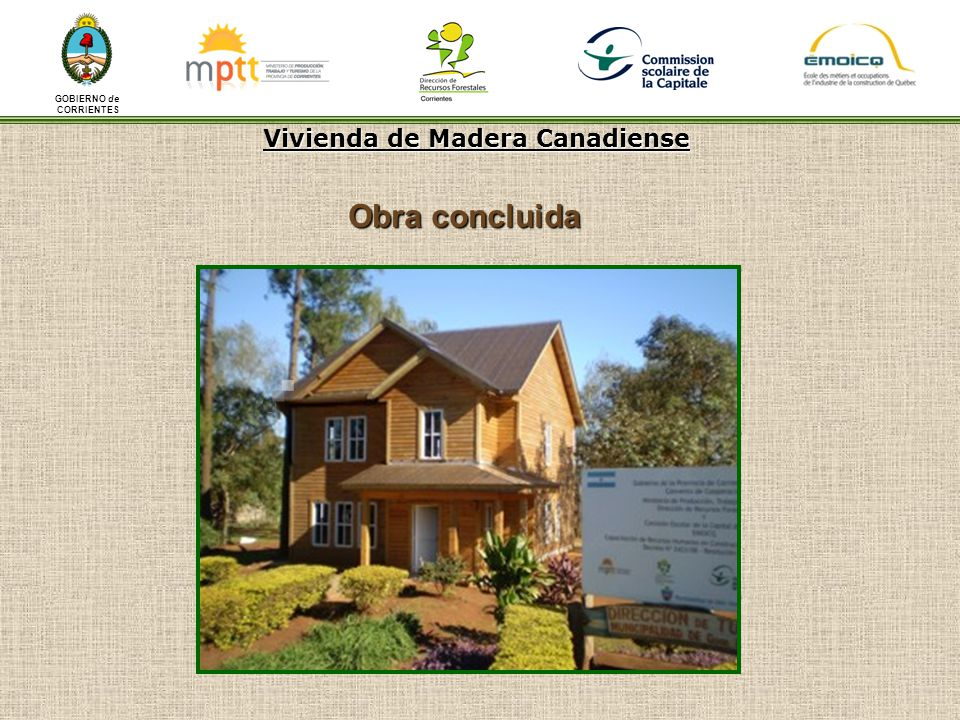 Vivienda de madera canadiense ppt descargar for Viviendas en madera