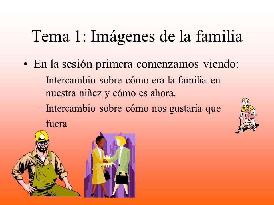 Tema 1: Imágenes de la familia