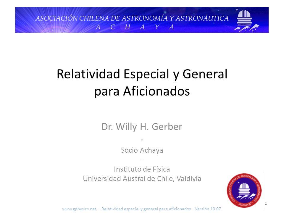 Relatividad Especial y General para Aficionados