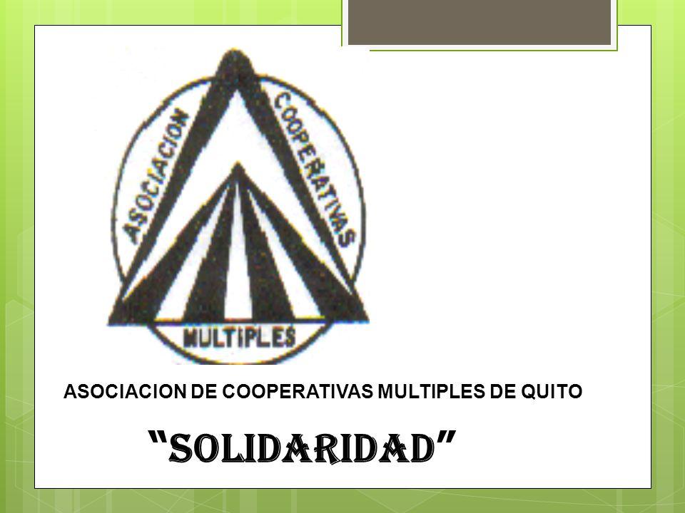 ASOCIACION DE COOPERATIVAS MULTIPLES DE QUITO