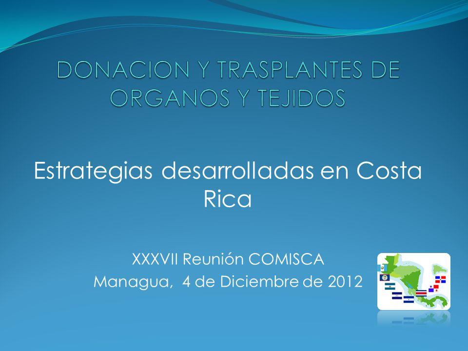 DONACION Y TRASPLANTES DE ORGANOS Y TEJIDOS