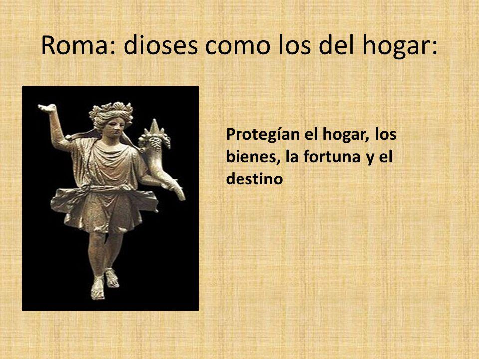 Roma: dioses como los del hogar: