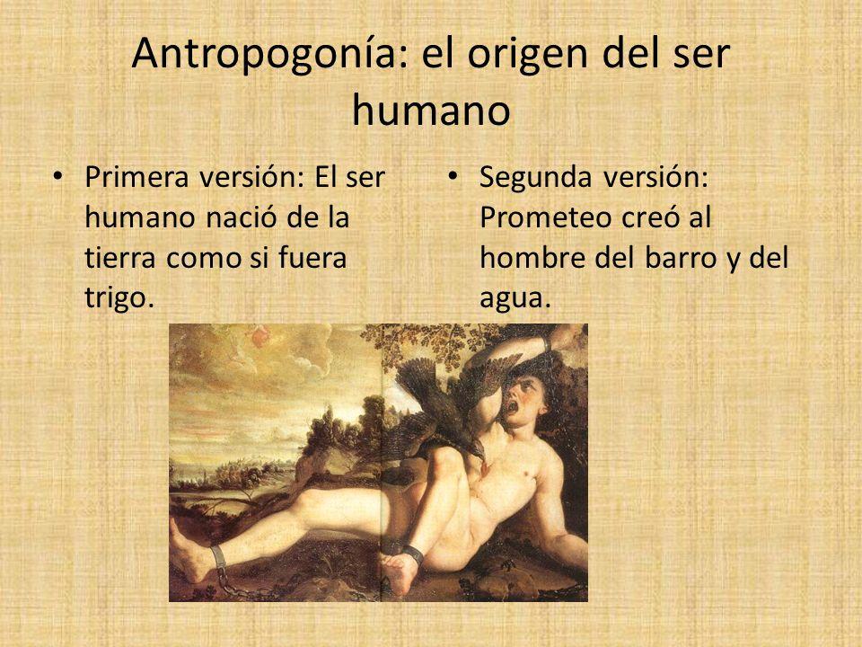 Antropogonía: el origen del ser humano
