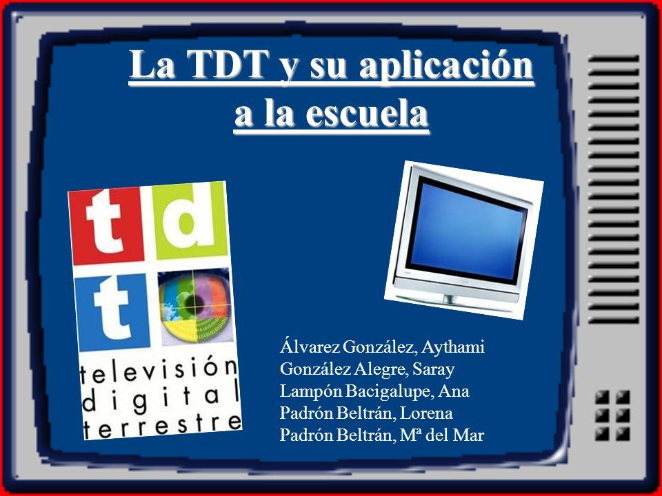 La TDT y su aplicación a la escuela