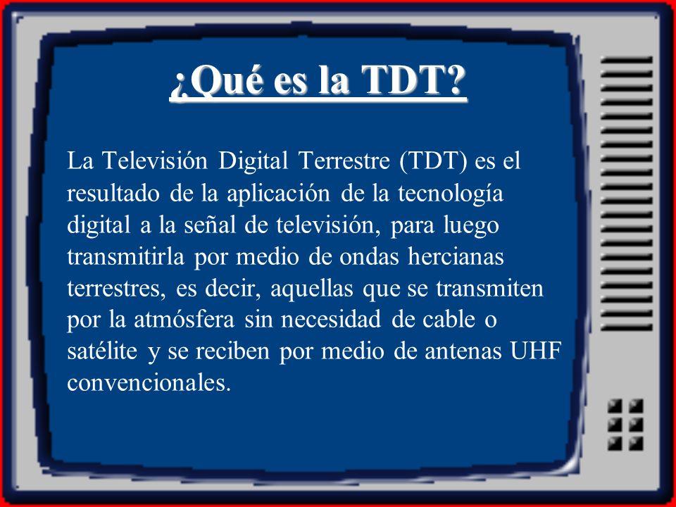 ¿Qué es la TDT