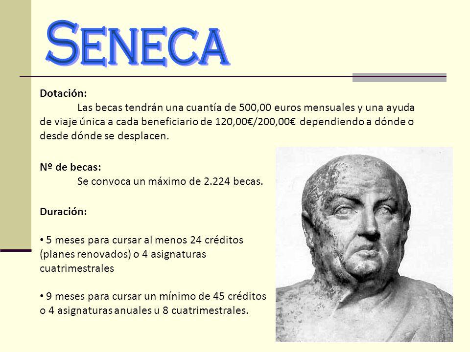 Seneca Dotación: