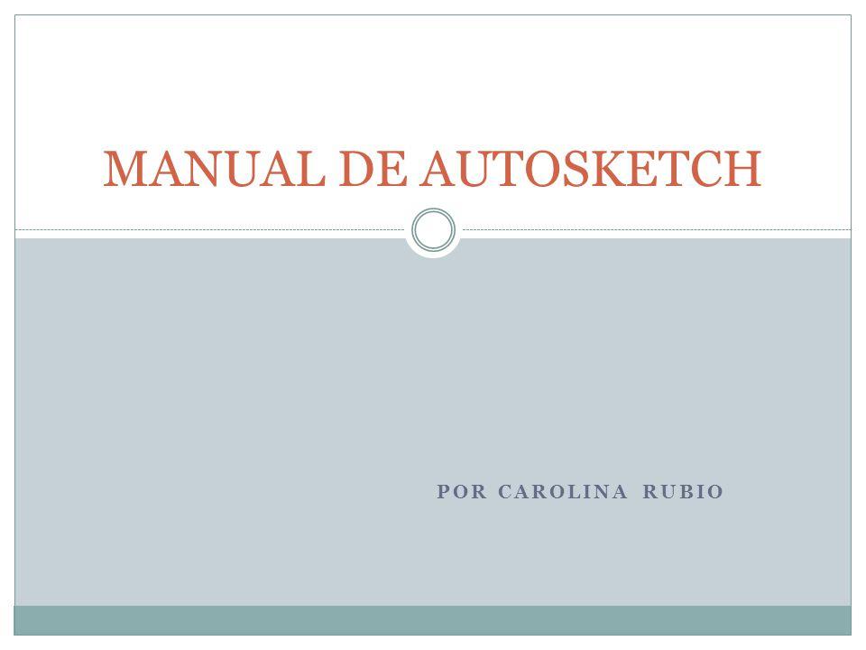 manual de autosketch por carolina rubio ppt video online descargar rh slideplayer es AutoSketch 10 64-Bit AutoSketch 10 Tutorial