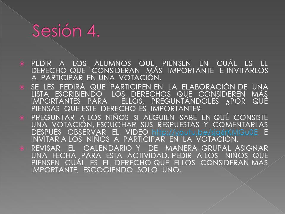 Sesión 4.