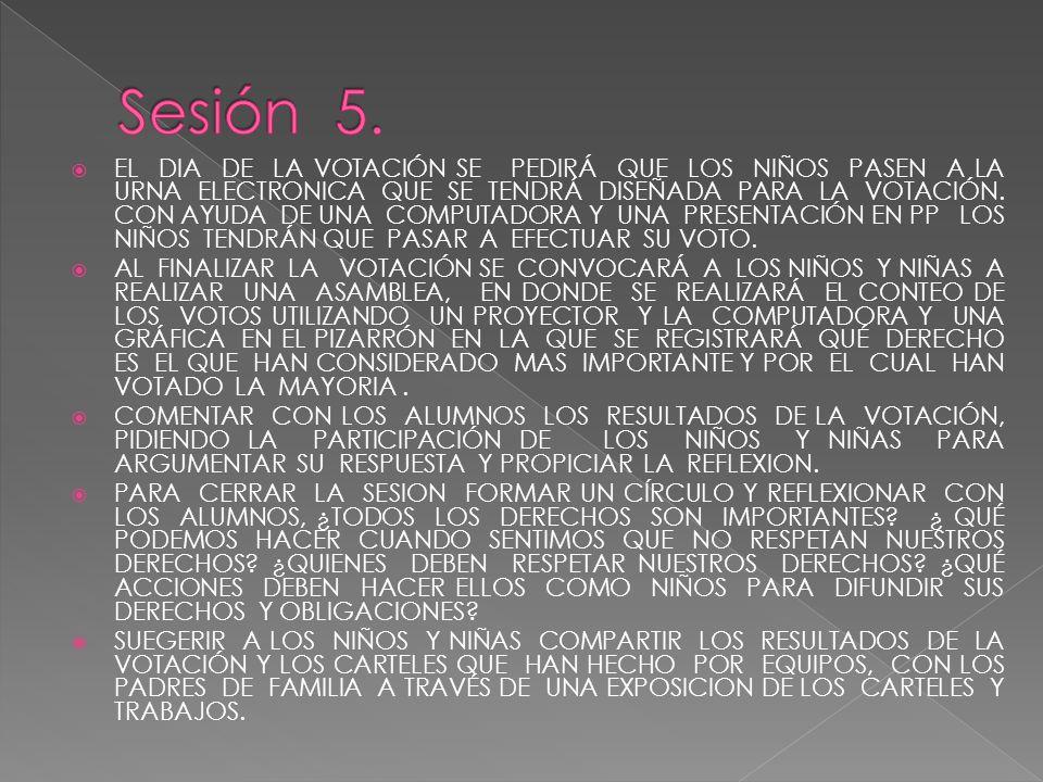 Sesión 5.
