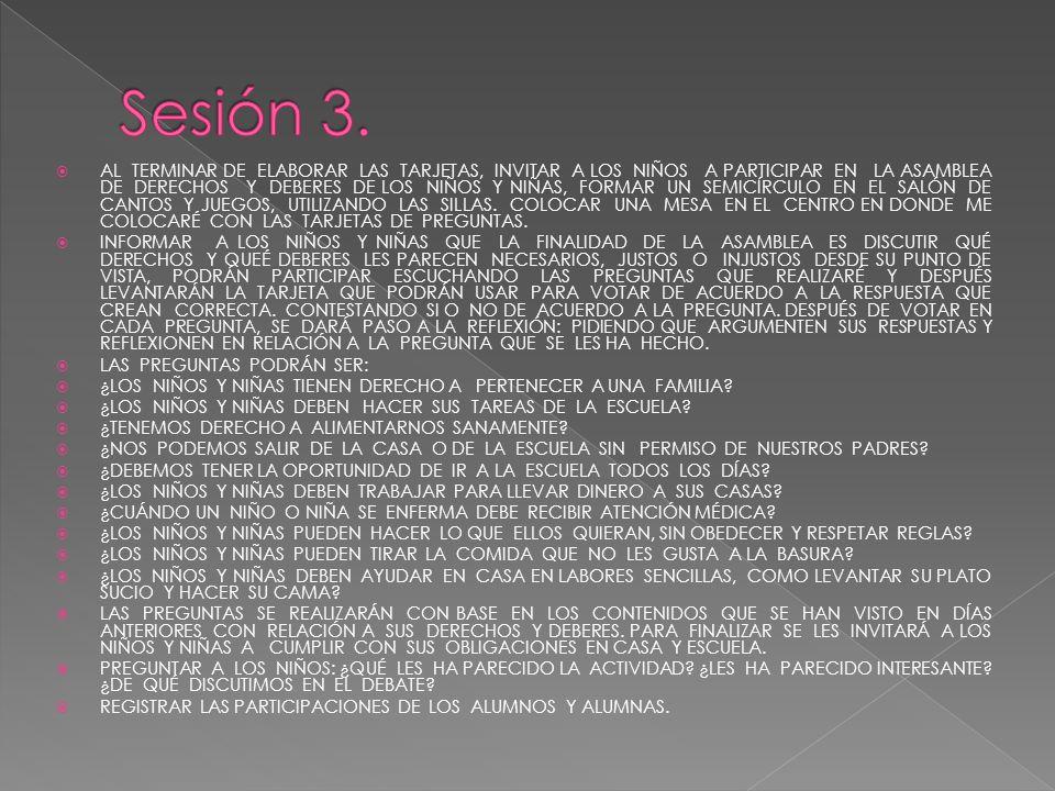 Sesión 3.
