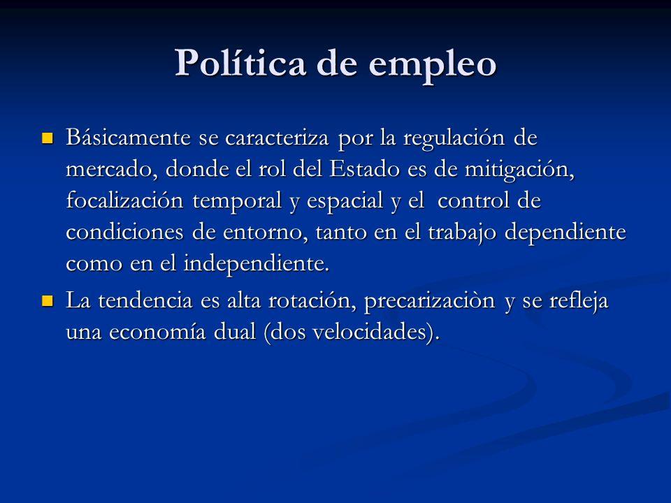 Política de empleo