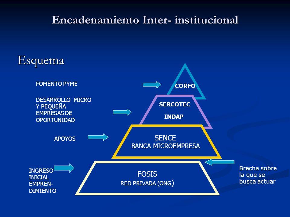 Encadenamiento Inter- institucional