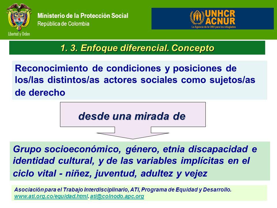 1. 3. Enfoque diferencial. Concepto