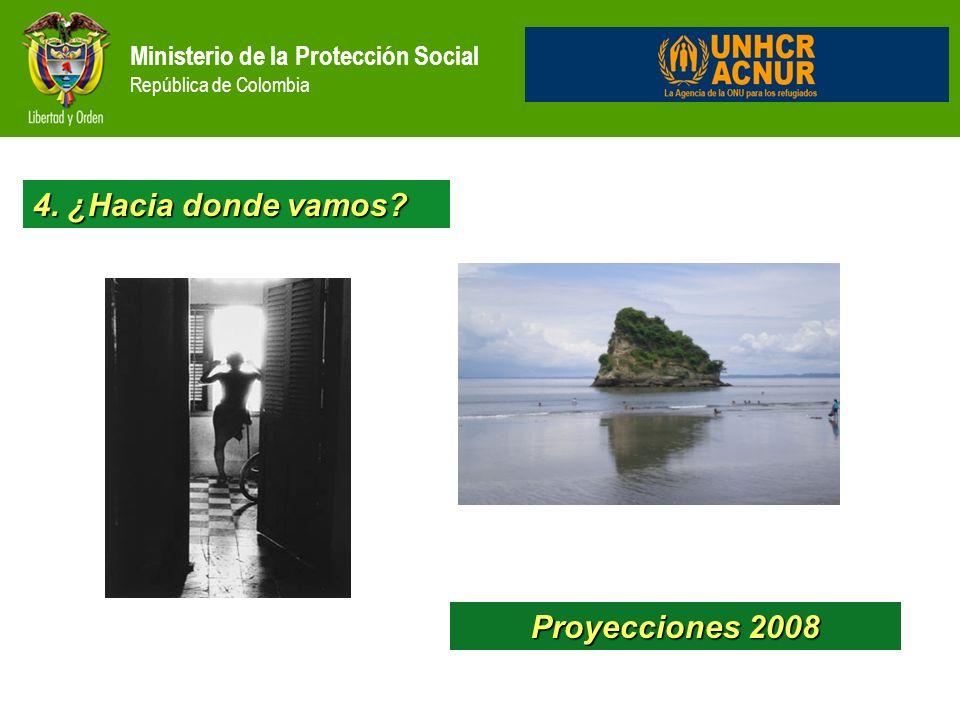 4. ¿Hacia donde vamos Proyecciones 2008