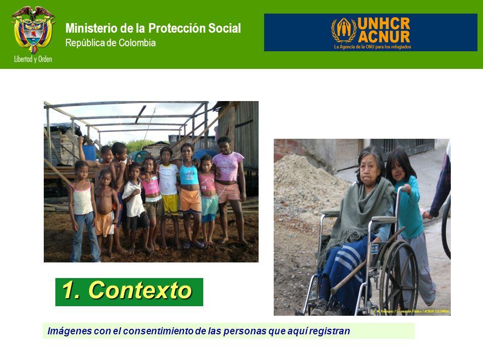 Contexto Ministerio de la Protección Social República de Colombia