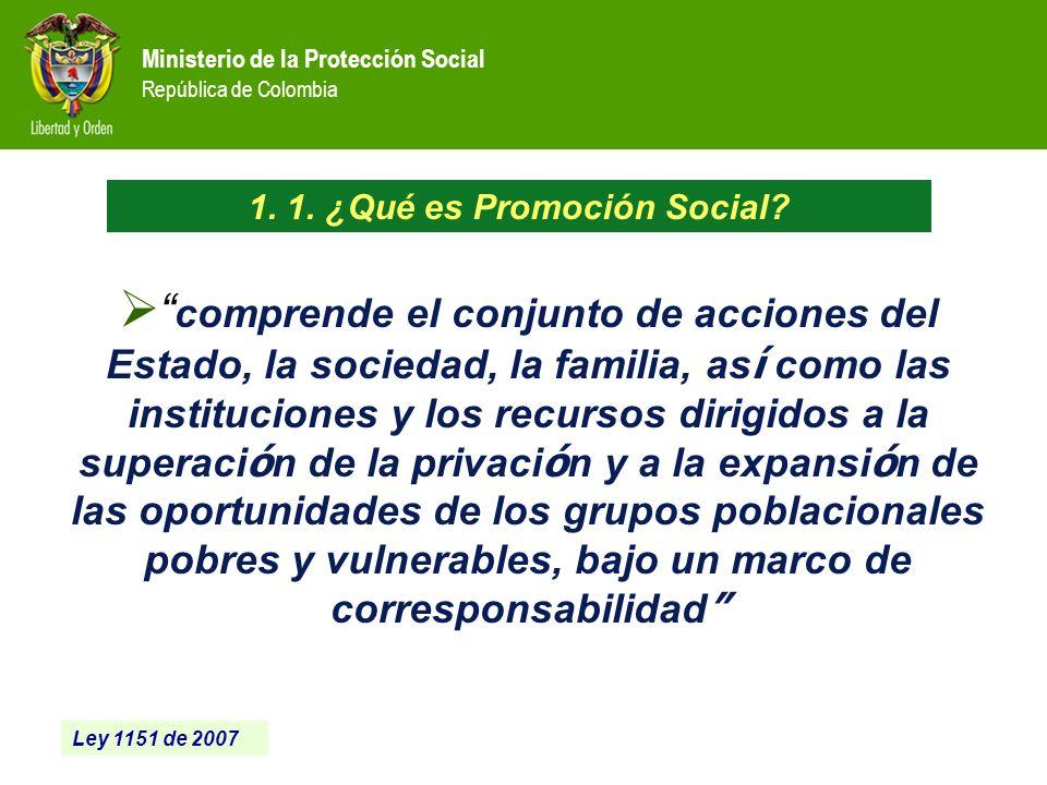 1. 1. ¿Qué es Promoción Social