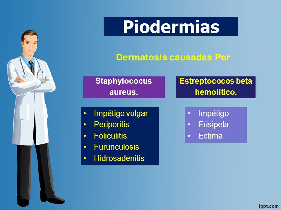Dermatosis causadas Por