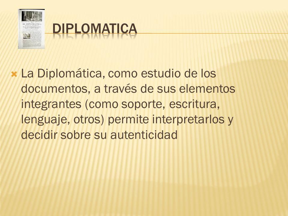 DIPLOMATICA