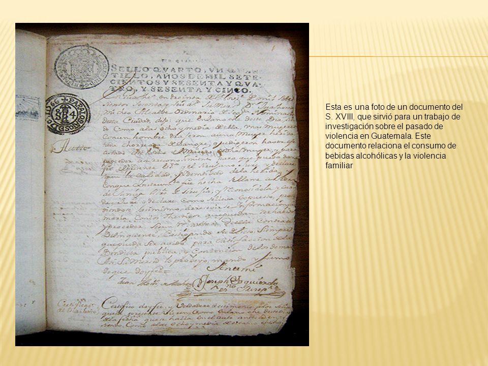 Esta es una foto de un documento del S