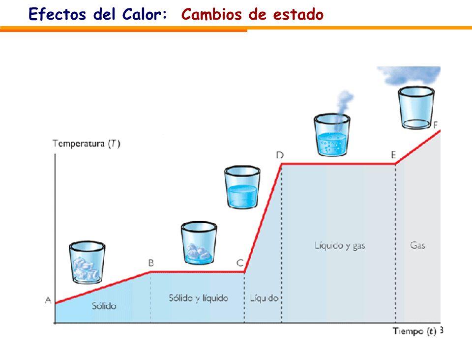 Efectos del Calor: Cambios de estado