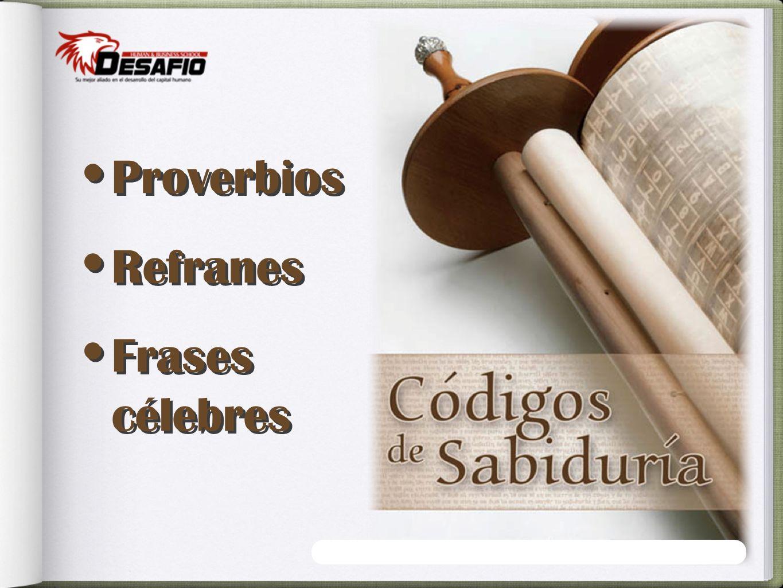 Proverbios Refranes Frases célebres