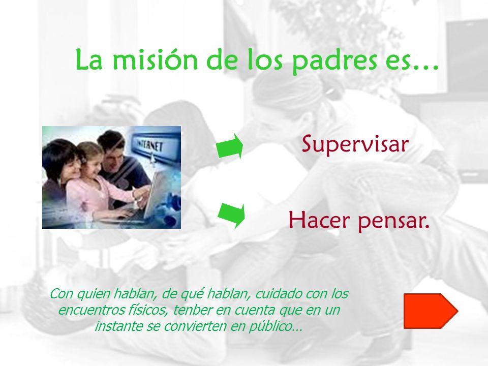 La misión de los padres es…