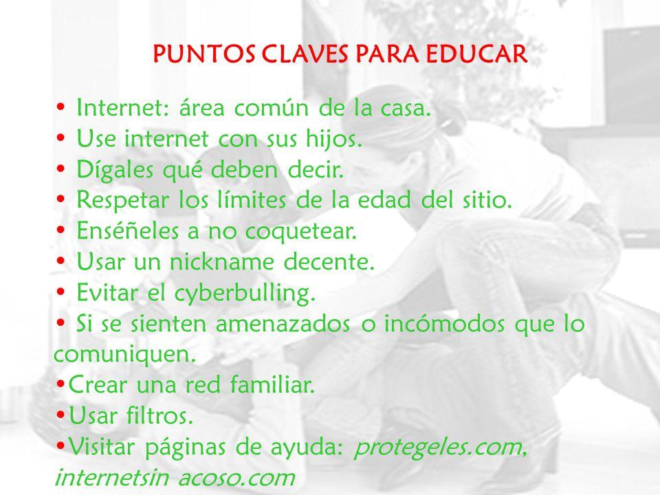 PUNTOS CLAVES PARA EDUCAR