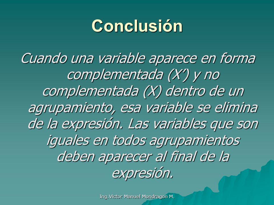 Ing.Victor Manuel Mondragon M.
