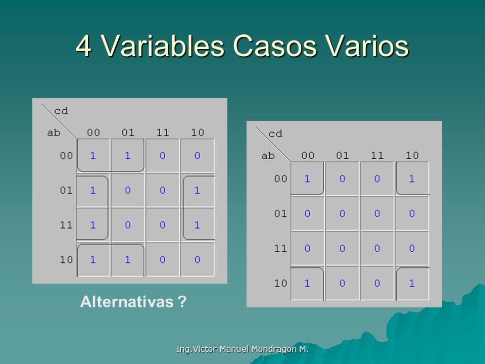 4 Variables Casos Varios