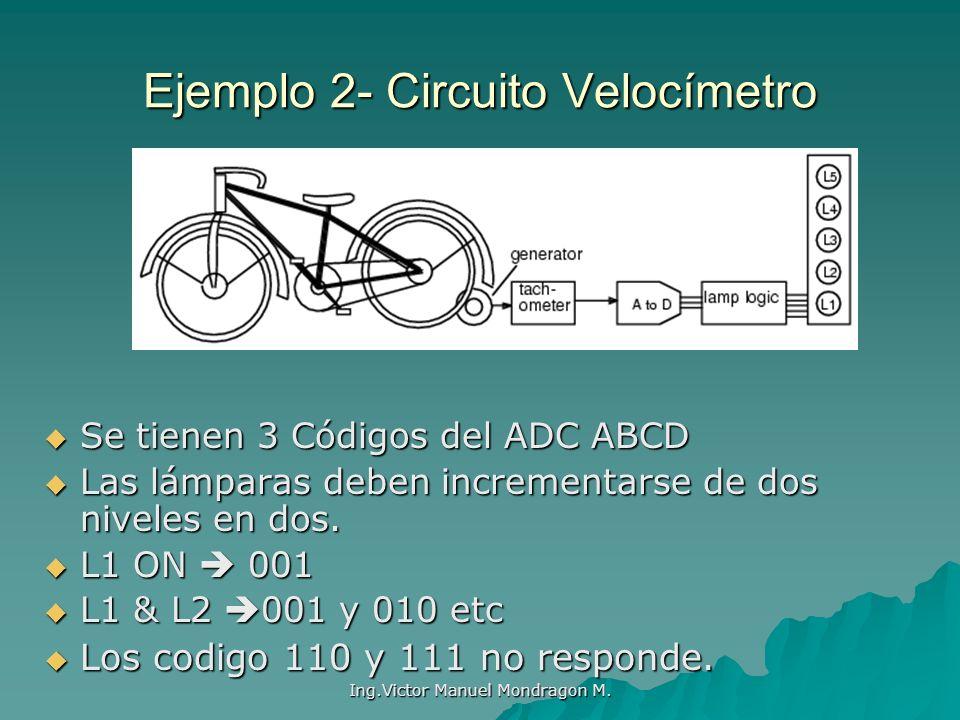 Ejemplo 2- Circuito Velocímetro