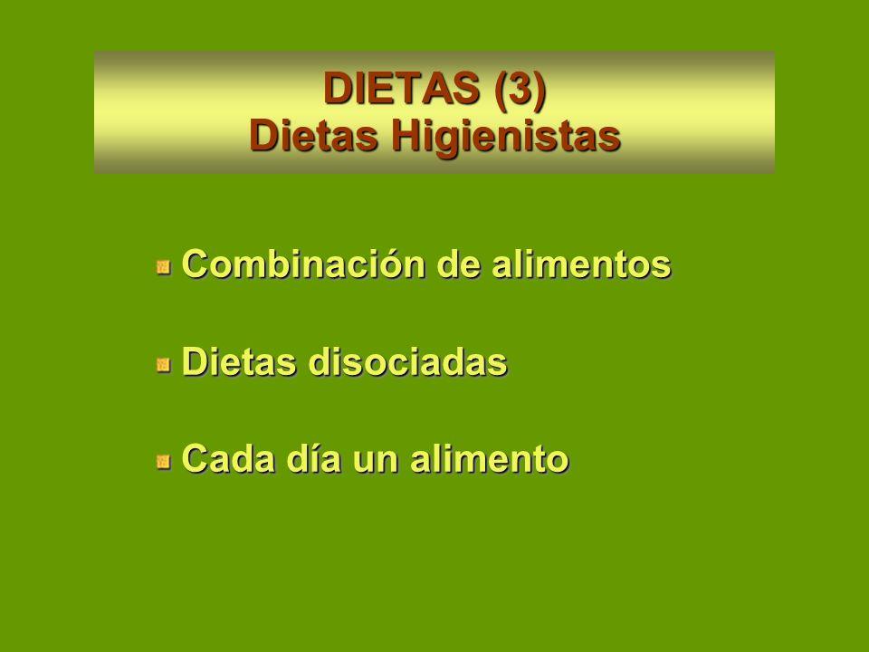 DIETAS (3) Dietas Higienistas