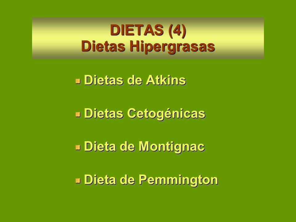 DIETAS (4) Dietas Hipergrasas