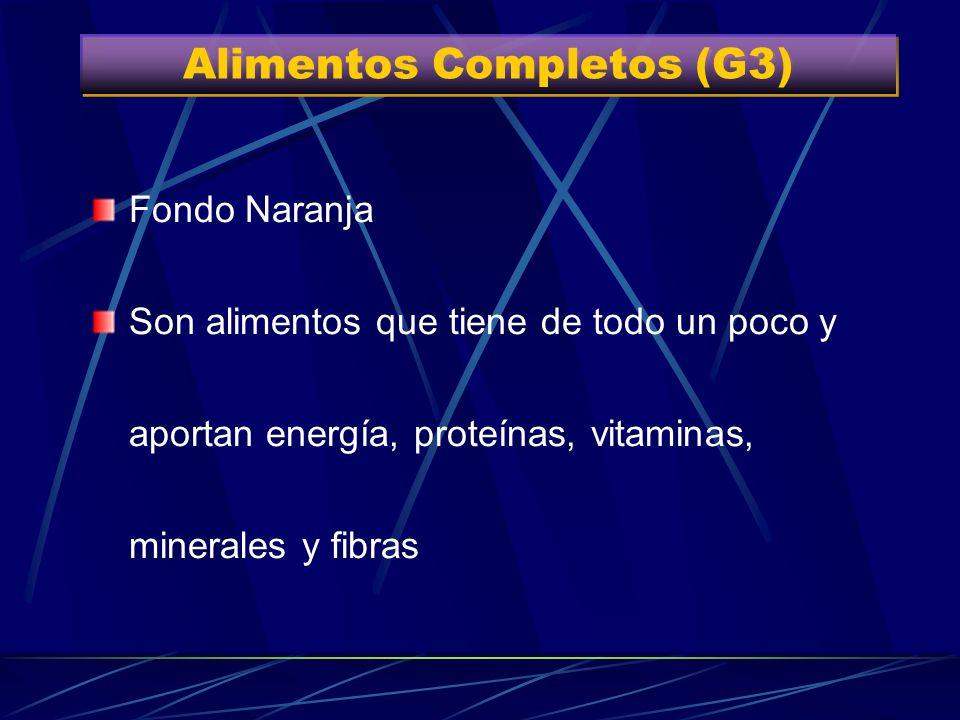 Alimentos Completos (G3)