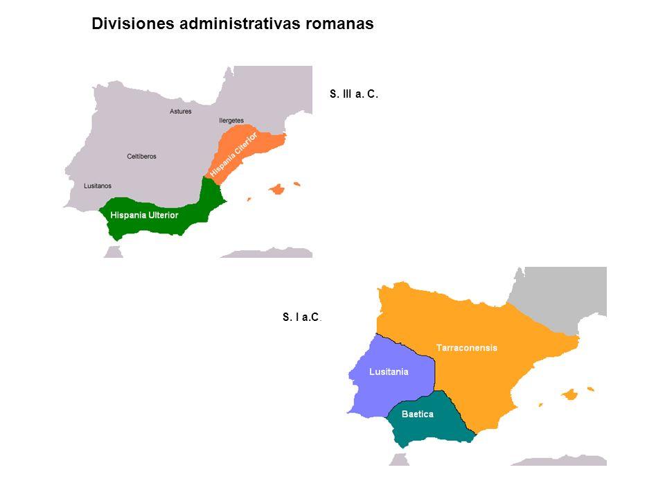 Divisiones administrativas romanas