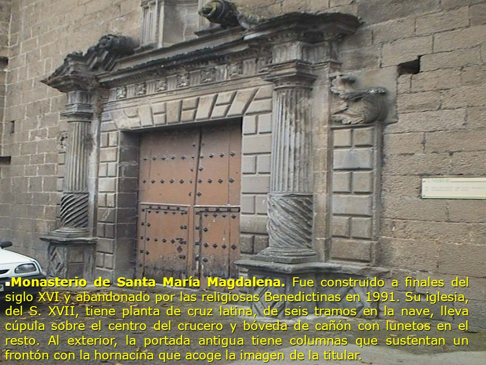 Monasterio de Santa María Magdalena