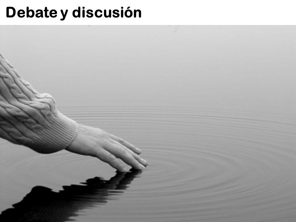 Debate y discusión