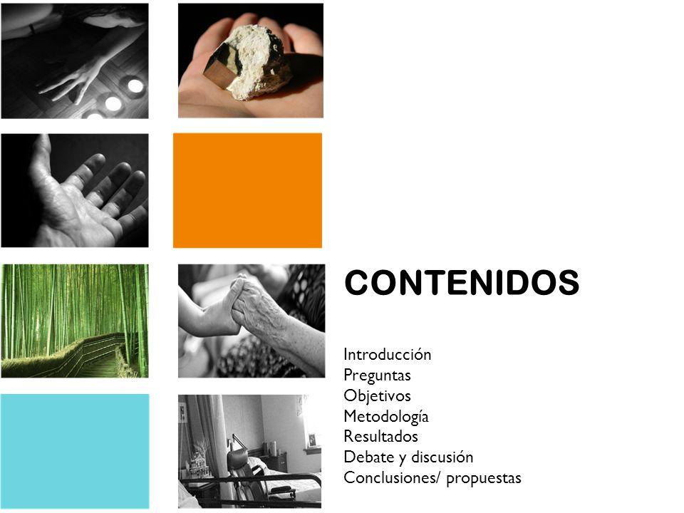 CONTENIDOS Introducción Preguntas Objetivos Metodología Resultados