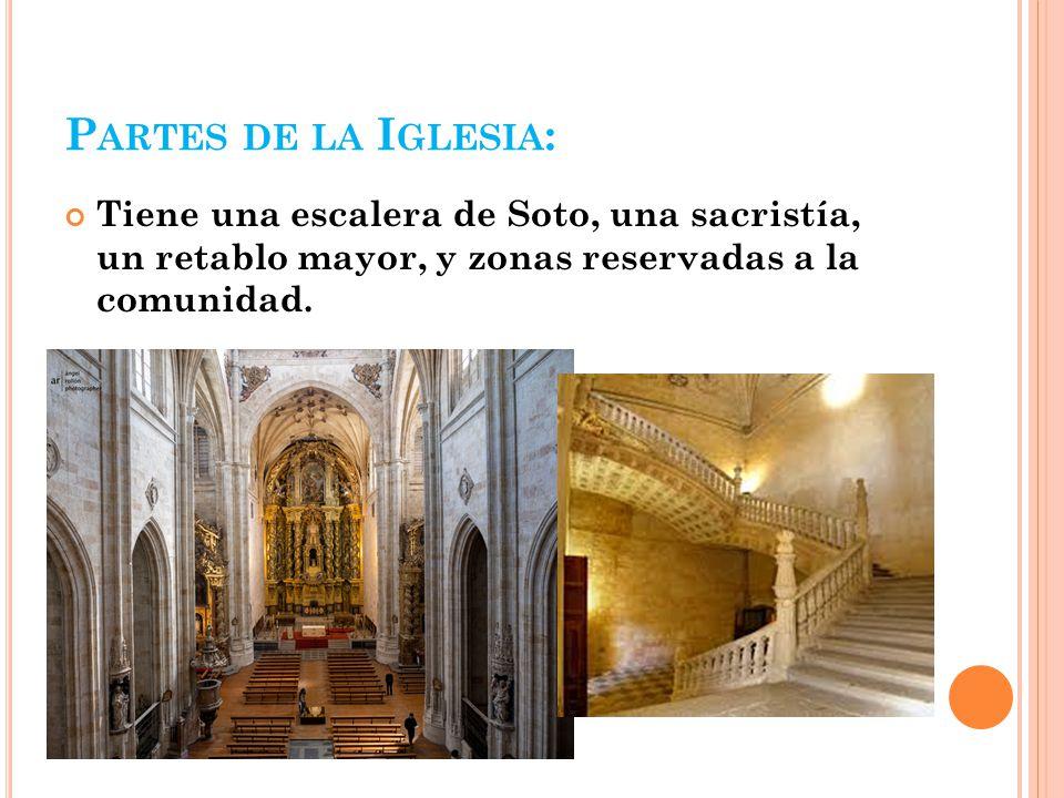 La iglesia de san esteban ppt descargar for Partes de una escalera