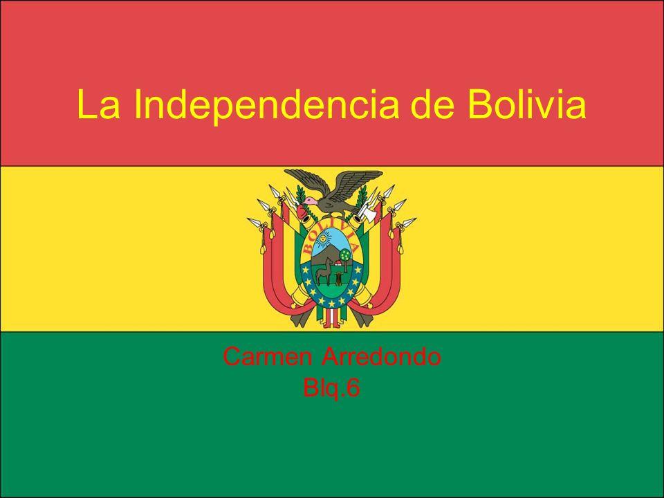 La Independencia de Bolivia