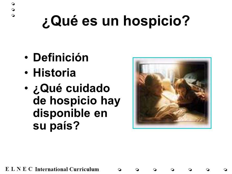 ¿Qué es un hospicio Definición Historia